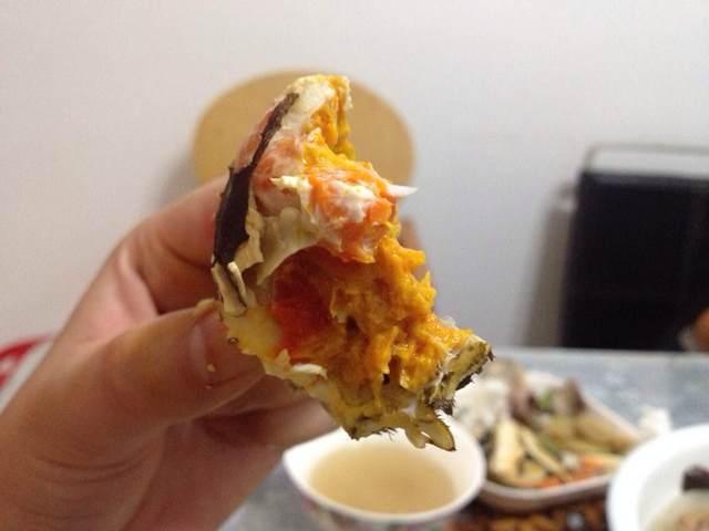 九月雌十雄蟹膏蟹黄丰满非常好吃!