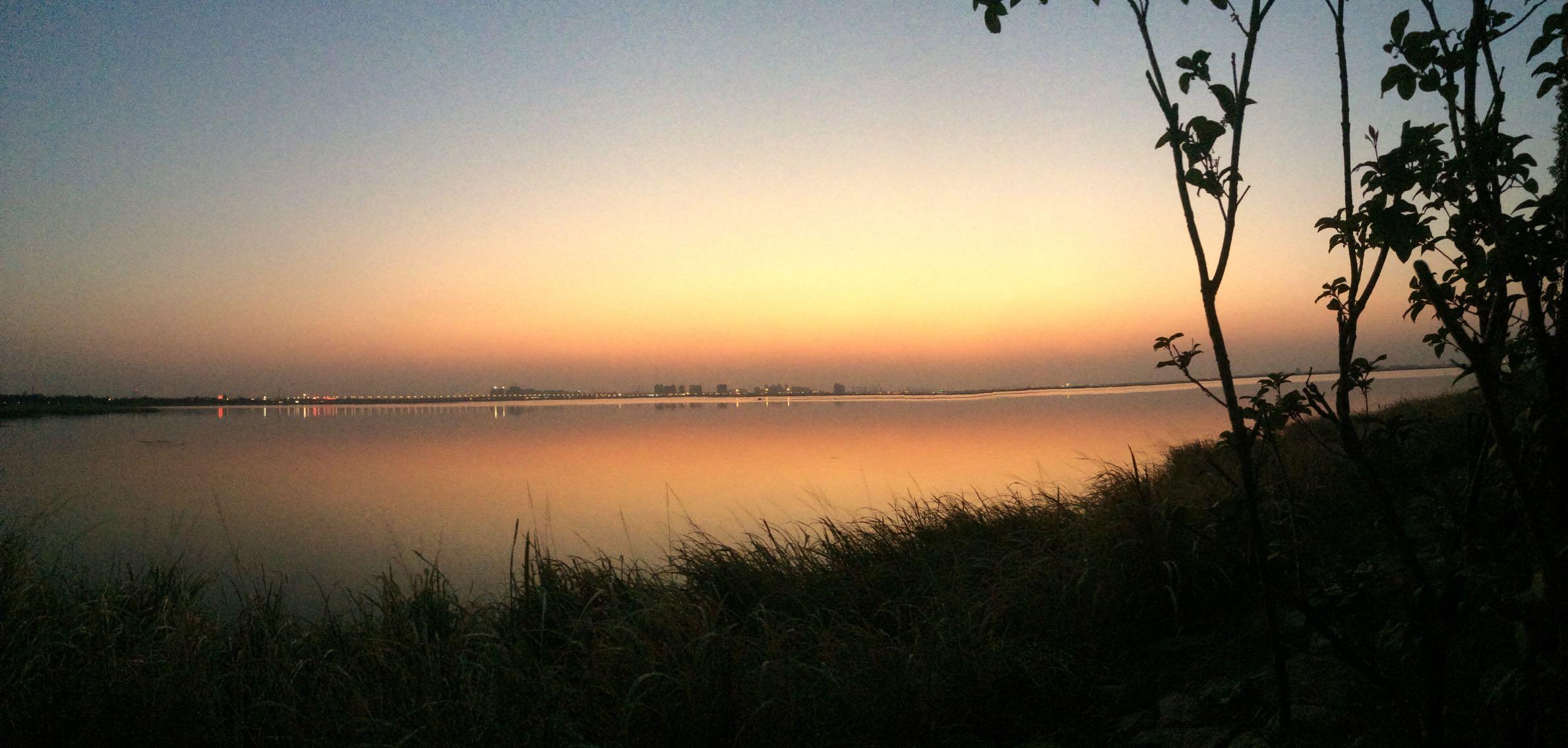来自微信蟹友上帝眼中的阳澄湖